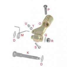 Полный комплект крепления регулируемой педали газа OTK