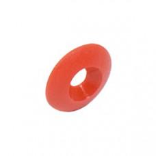 Шайба сиденья пластиковая 8х30мм под потай OTK красная