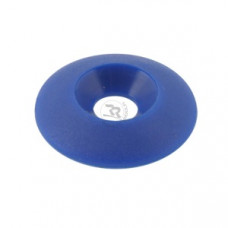 Шайба сиденья пластиковая 8х30мм под потай синяя