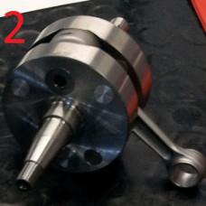 Коленчатый вал TM KZ10C в сборе 22мм