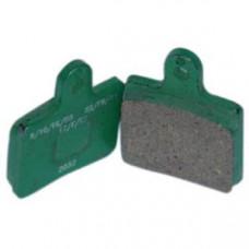 Комплект передних тормозных колодок CRG VEN05/VEN09 Duralcan (керамика) 2шт.