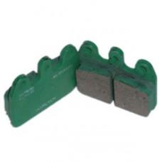 Комплект задних тормозных колодок CRG VEN05/VEN09 Duralcan (керамика) 2шт.