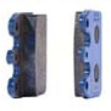 Комплект задних тормозных колодок CRG VEN05/VEN09 2шт. синих