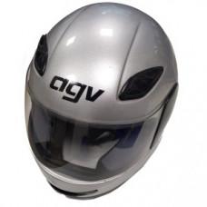Шлем AGV 62см серый металлик