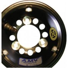 Комплект дисков AMV 9F тип CRG 130/180 черные алюминий