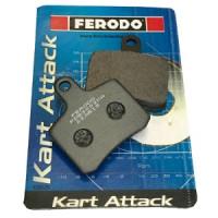 Комплект тормозных колодок Ferodo 3003KA для OTK BSD 2шт.