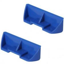 Комплект подпятников синих