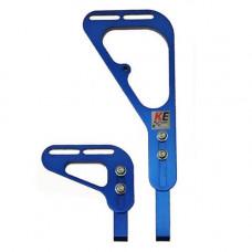 Крепеж для радиатора KE Double синий