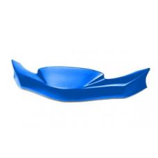 Передний бампер (губа) KG Мини MK14 синий