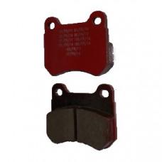 Комплект задних тормозных колодок Energy/Parolin 2шт.