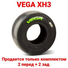 Шина для карта слик VEGA XH3 (зеленая) задняя